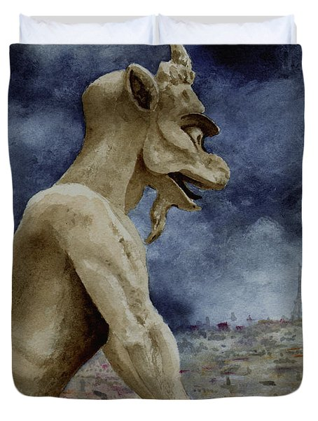 The Overseer Duvet Cover