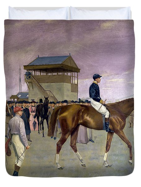 The Owner S Enclosure Newmarket Duvet Cover by Isaac Cullen