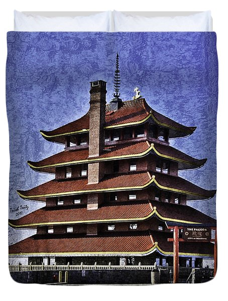 The Pagoda Duvet Cover