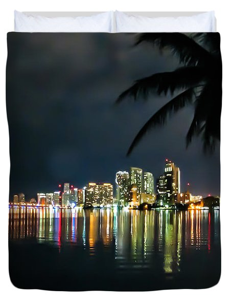 The Painted City Duvet Cover by Rene Triay Photography