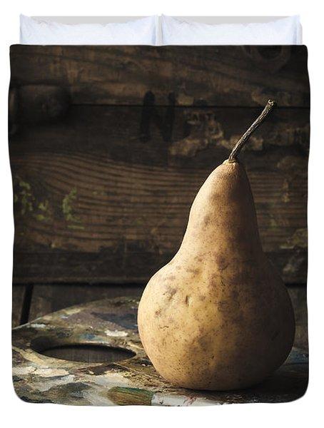 The Painter's Pear Duvet Cover