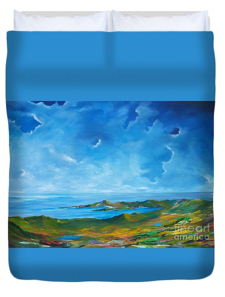 The Palette Of Ireland # 2 Duvet Cover