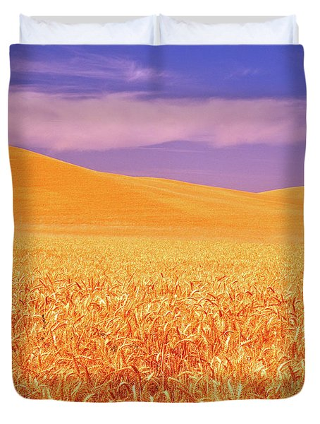 The Palouse Steptoe Butte Duvet Cover