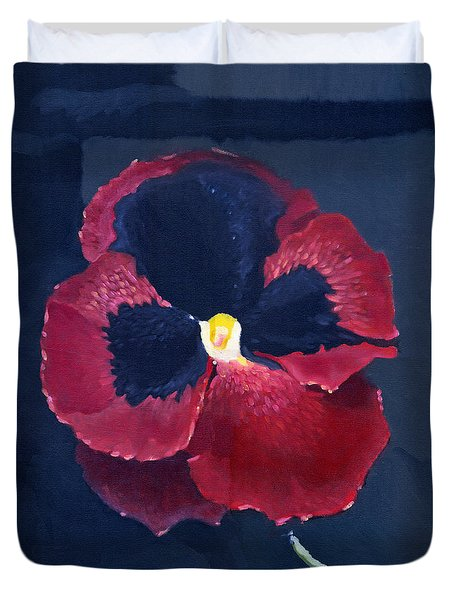 The Pansy Duvet Cover
