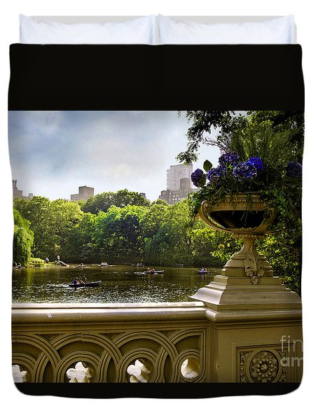 The Park On A Sunday Afternoon Duvet Cover