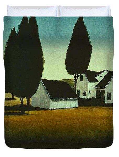 The Parson's House Duvet Cover