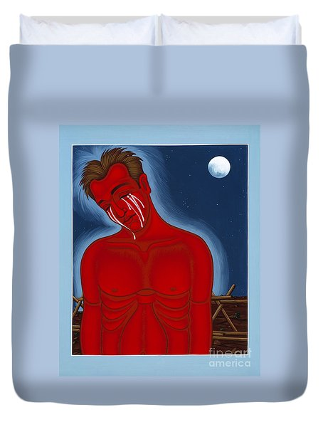 The Passion Of Matthew Shepard 096 Duvet Cover