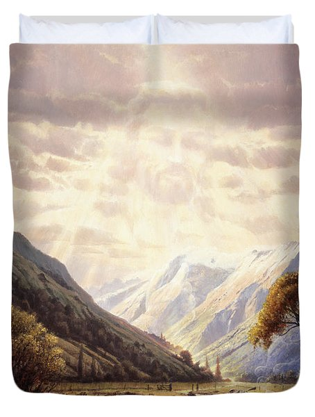 The Path Of Life Duvet Cover