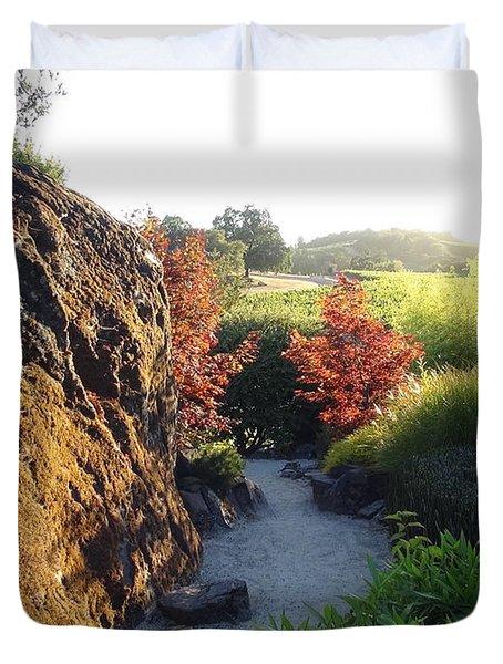 The Path Duvet Cover