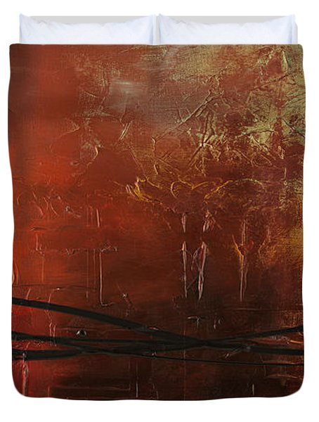 The Pause Duvet Cover by Carmen Guedez