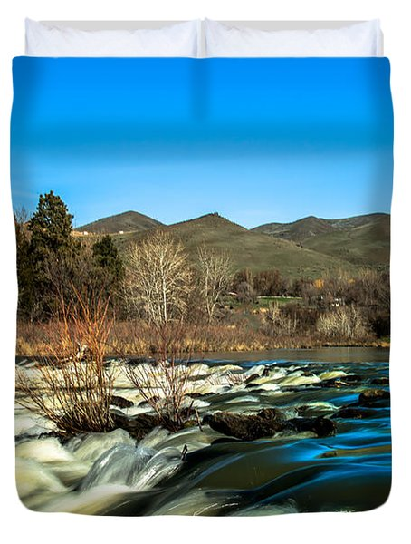 The Payette River Duvet Cover by Robert Bales