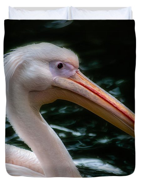 The Pelican Duvet Cover by Hannes Cmarits