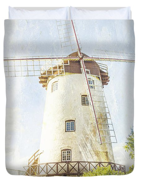 The Penny Royal Windmill Duvet Cover