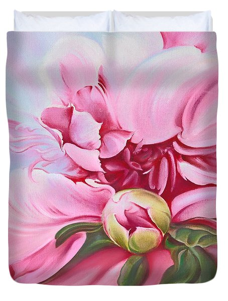 The Peony Duvet Cover
