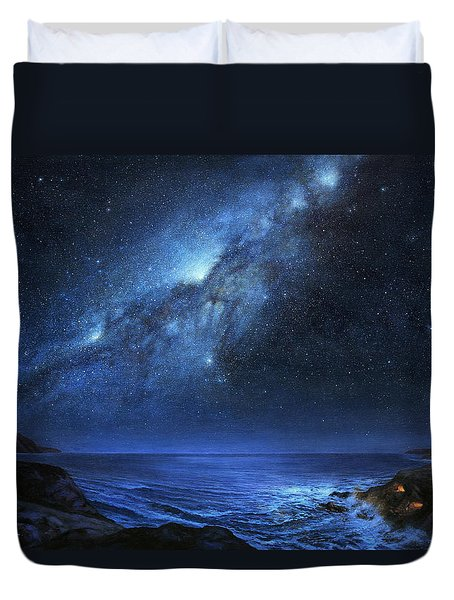 The People Of Pinnacle Point Duvet Cover
