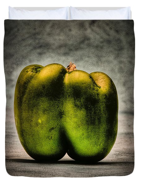 The Pepper Duvet Cover by Timothy Bischoff