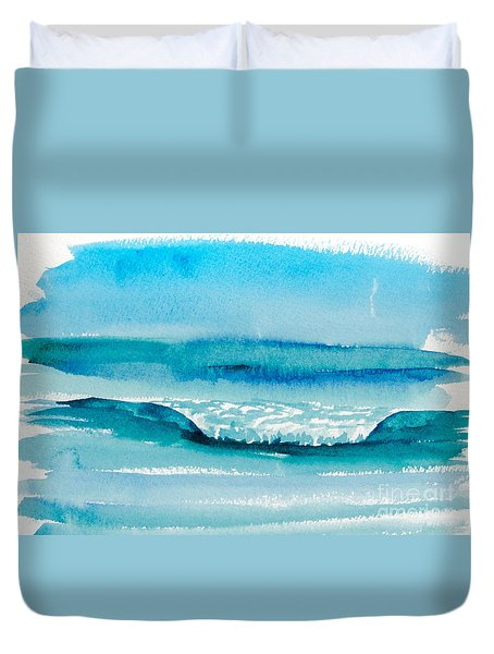 The Perfect Wave Duvet Cover
