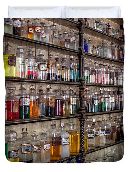 The Pharmacy Duvet Cover