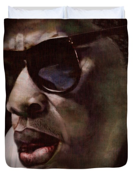 The Pied Piper Of Intrigue - Jay Z Duvet Cover