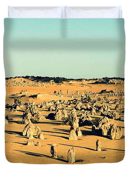 The Pinnacles Australia Duvet Cover by Yew Kwang