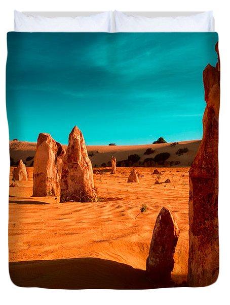 The Pinnacles Duvet Cover