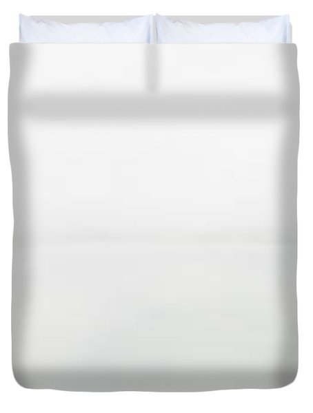 The Place Where Air Meets Water Duvet Cover