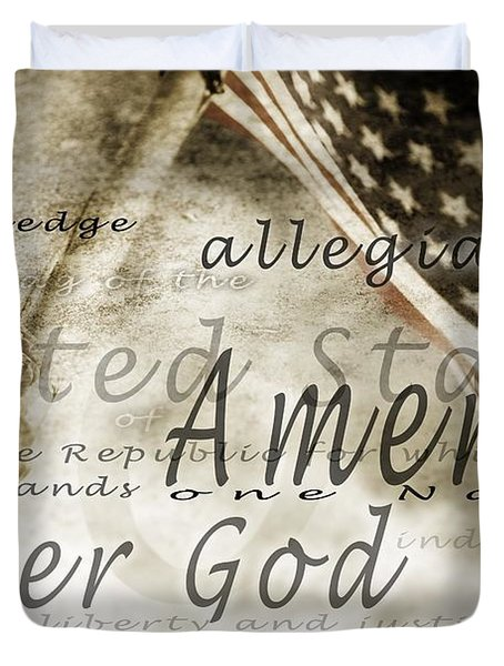 The Pledge Of Allegiance And An Duvet Cover
