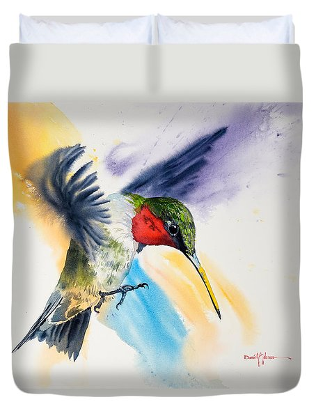 Da170 The Pollinator Daniel Adams Duvet Cover