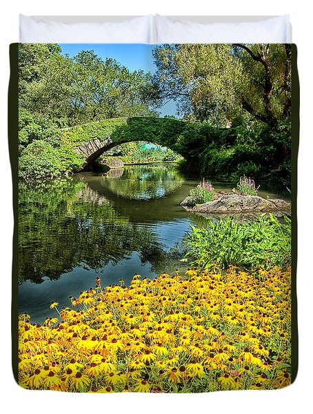 The Pond Duvet Cover by Karol Livote