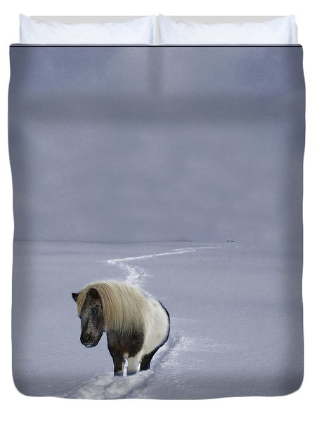 The Ponys Trail Duvet Cover