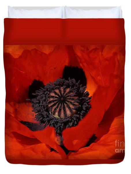 The Poppy Is Also A Flower Duvet Cover