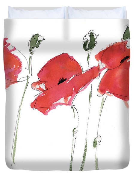 The Poppy Ladies Duvet Cover