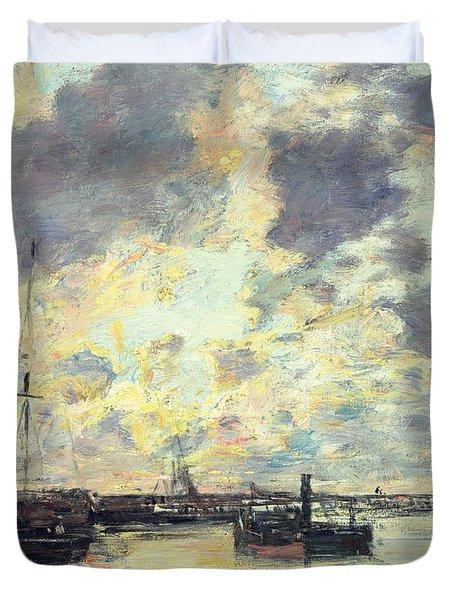 The Port Duvet Cover