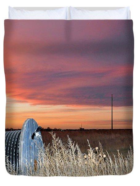 The Prairie Duvet Cover