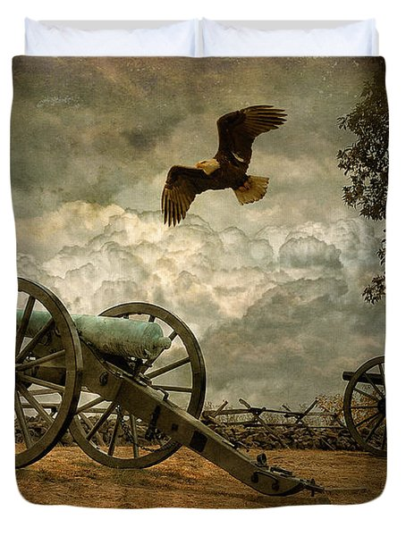 The Price Of Freedom Duvet Cover