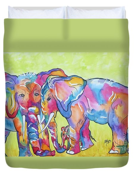 The Protectors Duvet Cover