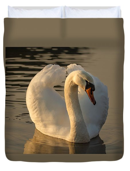 Duvet Cover featuring the photograph The Pure In Heart by Rose-Maries Pictures