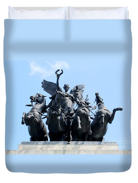 The Quadriga Duvet Cover