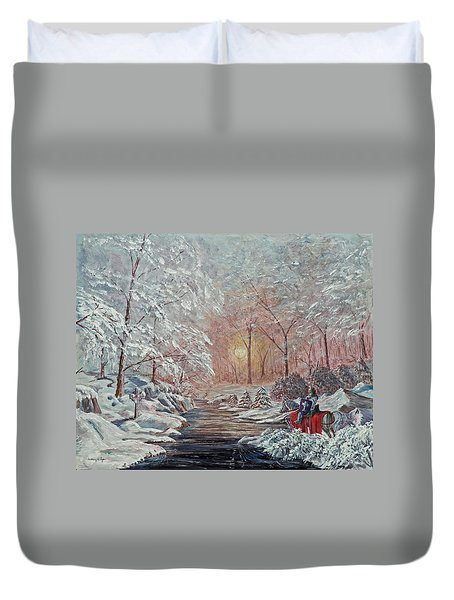 The Quest Begins Duvet Cover