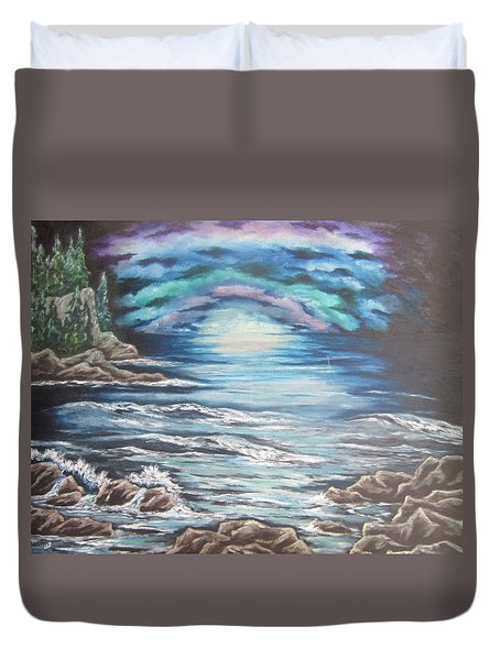 The Quiet Coast Duvet Cover