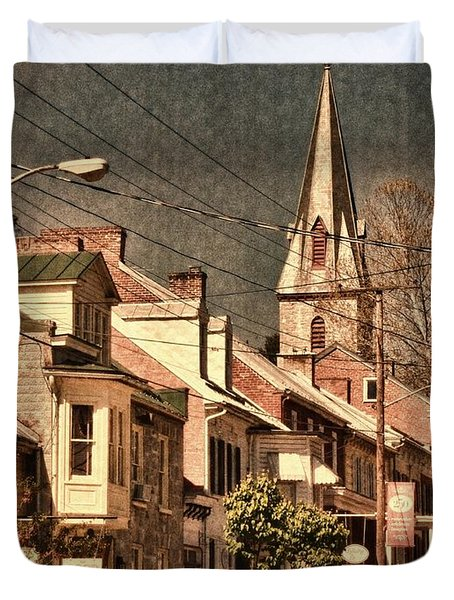 The Quintessential Semiquincentennial - Shepherdstown Wv  Duvet Cover