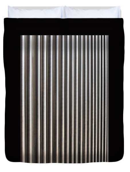 Duvet Cover featuring the photograph The Rack by Wendy Wilton