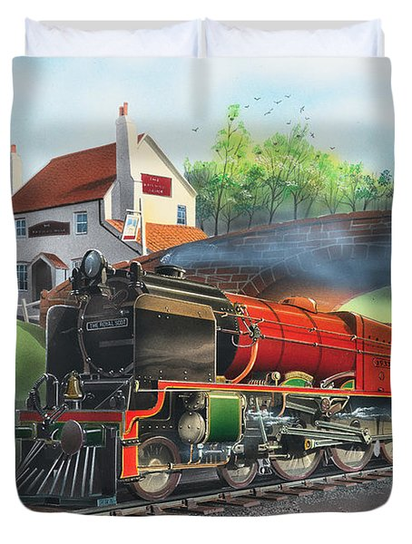 The Railway Duvet Cover