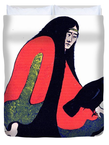The Raven Ap/2 Duvet Cover