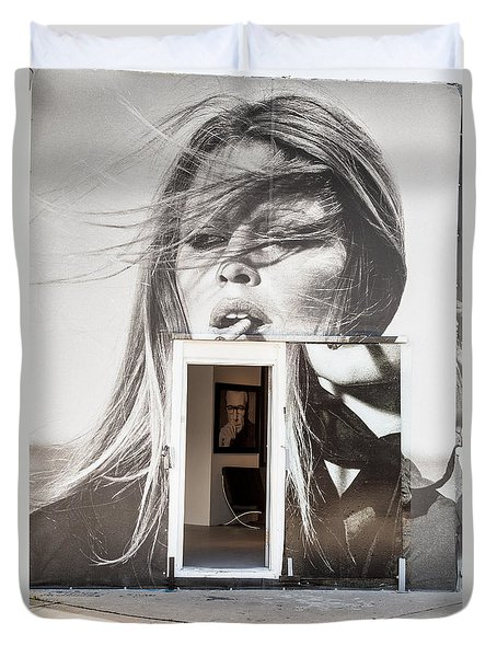 The Art Gallery Within Bridgitte Duvet Cover