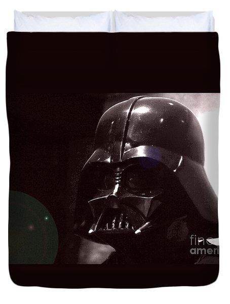 the Real Darth Vader Duvet Cover by Micah May
