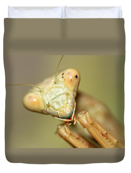 The Real Predator  Duvet Cover by Shoal Hollingsworth