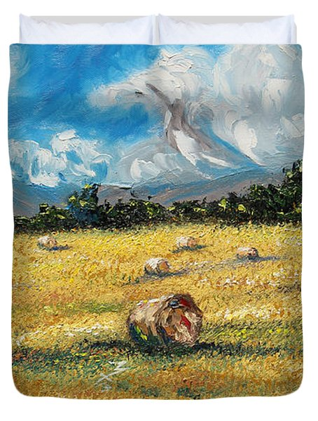 The Reaping Duvet Cover by Meaghan Troup