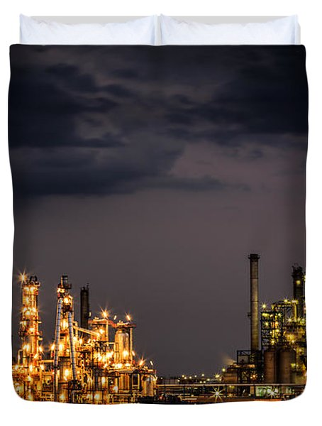 The Refinery Duvet Cover by Mihai Andritoiu