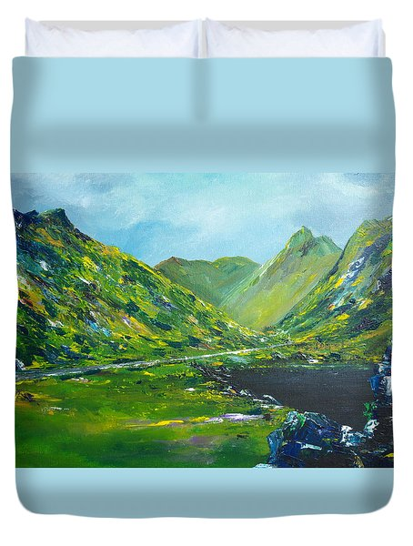 The Ring Of Kerry Duvet Cover